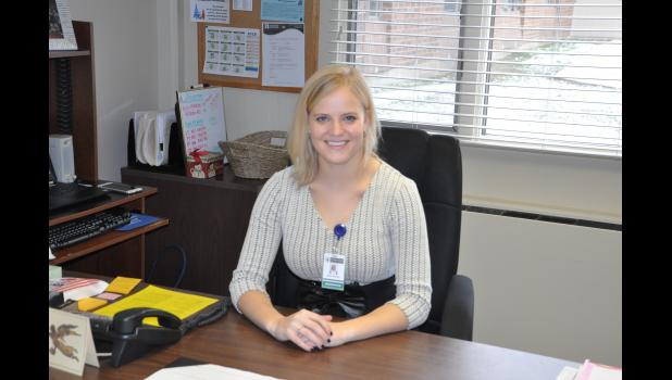 Taylor Kollross has enjoyed getting to know the staff and residents at American Lutheran Communities since taking over as the Mondovi facility's administrator last month. Kollross, an Eau Claire native, plans to focus on promoting ALC's many offerings to help make it the facility of choice to those from the Mondovi community and beyond who seek senior care options.