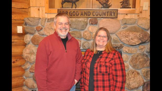 Longtime Mondovi Conservation Club president Al Urness recently passed the leadership torch to Krista Nygaard. The club's Board of Directors nominated Nygaard as a candidate for president at its Feb. 6 meeting and she came out ahead in the ensuing vote. Nygaard is the first woman to lead the Conservation Club in its nearly 60-year history.