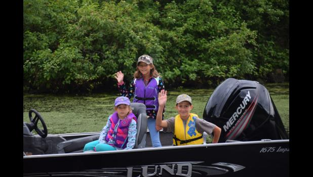 Durand's 24th Annual Youth Fishing Contest is now happening