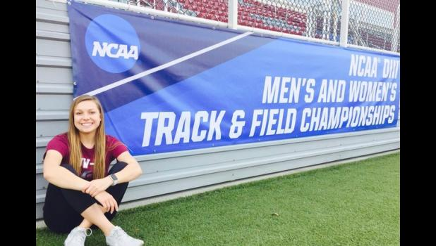 Mondovi's Jenna Franzwa qualified to compete for UW-La Crosse in the 100 meter hurdles at the 2017 NCAA Division III Outdoor Track & Field Championships last month. Franzwa has gotten faster and faster in the event she picked up her junior year of high school, becoming one of the WIAC's best hurdlers.