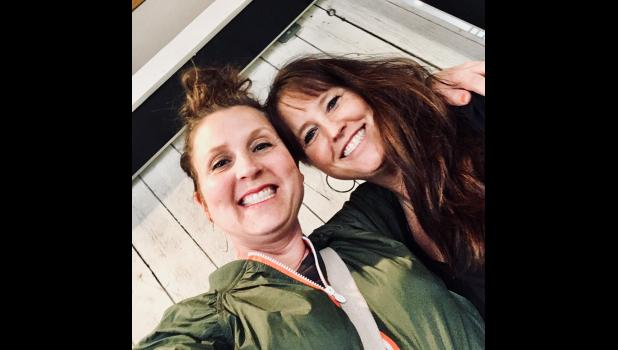 Stacey Hartung (left) and Wendy Buchholz recently put their creativity and business/marketing smarts together to forge a new partnership and event venue, Local{e) 133 in downtown Mondovi.