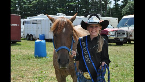 Morgan Rud is competing in her first national rodeo event and will look to record strong performances in barrel racing and pole bending.