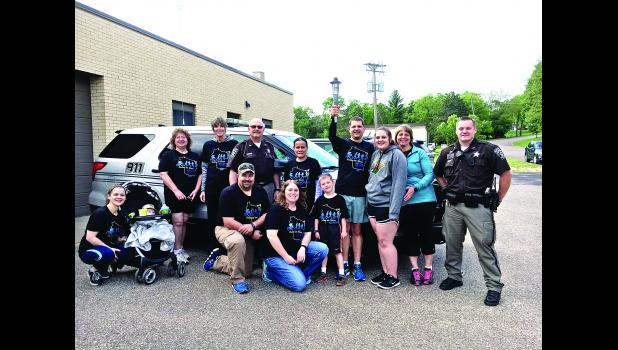 The Pepin County Sheriff's Office hosted a Final Leg 5K Walk/Run Law Enforcement Torch Run for Special Olympics Wisconsin in Durand on Monday, May 22. Submitted photo