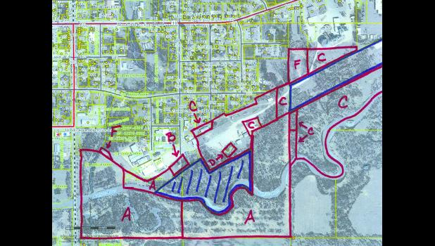 The City of Mondovi is looking to acquire several parcels of land near the Buffalo River on the city's southeast side that are in the designated flood plain. Federal mandates require municipalities to comply with flood mitigation by working to clear structures from the flood plain, and the city could obtain grant funds to help purchase the properties.