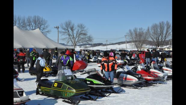 The Vintage Snowmobile Show & Ride enjoyed room to spread out and grow for the future with a venue change to the Buffalo County Fairgrounds last year. The Mondovi-Gilmanton Sno-Blazers' sixth annual snow show is set for this Saturday, Jan. 13, at the fairgrounds from 9 a.m. - 5 p.m.