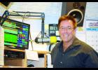 Alan Reed in his 'office' quick with a smile and always chatty. His last day on air will be this Friday, April 29th.