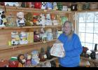 Elaine Yarrington of Eleva has collected cookie jars of all kinds for over 40 years. She estimates her collection has grown to upwards of 1,300 jars of all sorts of designs made of various materials.