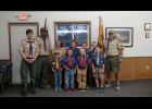 Members of Cub Scout Pack 76, of Pepin, pose for a photo. Submitted photo