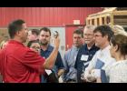 Local Firefighters participating included L to R: Tim Tabery Elgin Fire, Dusty Wehrs Elgin Fire, Dave Gates Elgin Fire, Eric Heins Plainview Fire