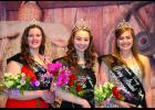 The 2017 Wabasha County Dairy Princess Banquet was held at the Zumbro Falls VFW and this years Dairy Princess is Melendy Miller (center), along with her attendants Rachel Fick (left) and Heather Gerken (right).